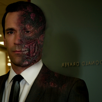 Jon Hamm as Two-Face by NightSlash