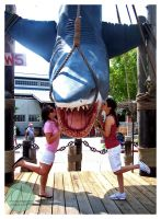 Kissing Jaws by AquaNinjaPirate