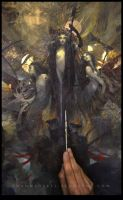 Les Fleurs du Mal... Work in progress 9... by Yoann-Lossel