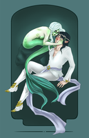 Siren and Elf Request by TentacleWaitress
