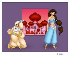 Arabian nights by Violla