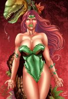 POISON IVY by Leonardo colored ver1 by Dany-Morales