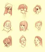 Faces by marlenakate