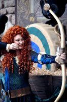 Merida and her Bow by BellesAngel