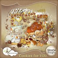 [Share Scrapbooking #4] Cookie For You by hoshi-langefia