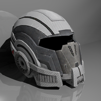Mass Effect 2 Helm by CKuhn
