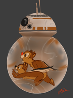 BB-8's Power Source by lenfontes