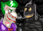 Niggi Batman vs Niggi Joker by NiggiThor
