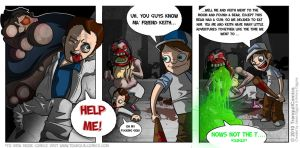 L4D2 comic: No time 4 talking by Xxid