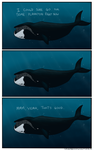 Lazy Whale Comic by camac