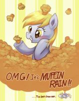 MUFFIN RAIN!!! by amy30535