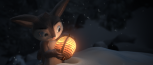 Hewie in the Cold (Animation) by thekeyofE