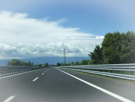 on the road by ale2xan2dra
