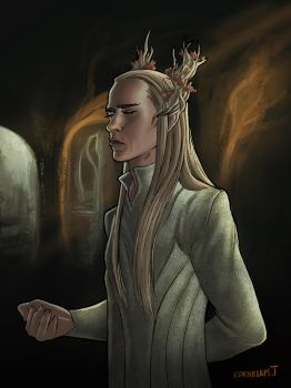 King of the Woodland Realm by catchingspiders