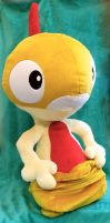 Ash's (Life-sized!) Scraggy! :Plushie: *FOR SALE*