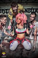 Lollipop Chainsaw - Cosplay Photography by MadSDesignz