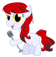 Filly Scarlet Melody by BRONYVAGINEER