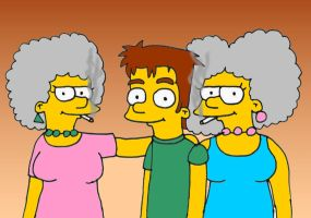 Patty and Selma by TomSimpson96