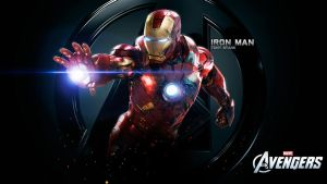 The Avengers Iron Man Mk VII Wallpaper by Scarlighter