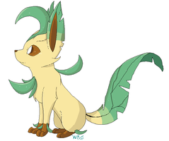 Leafeon by Kilala04