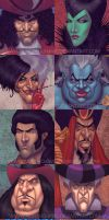 Disney Villains 100 Percent by StephenSchaffer