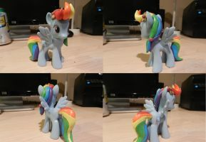 Crystal Rainbow Dash Custom by Rion-Noire