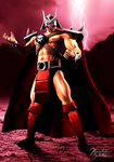 Mortal Kombat - Defenders of the Realm: Shao Kahn by JhonatasBatalha