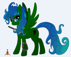 Fallout Equestria: SweetCloud (Dashite) by BlastWint
