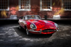 Jaguar E-Series by theCrow65