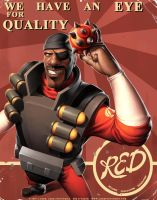 TF2 Demoman by JayAxer
