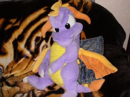Giant Spyro Plush by Starlight-Sonic