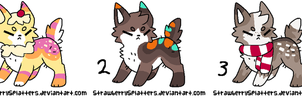Puppy Adoptable Auctions - OPEN by catpaths