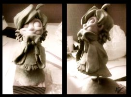 Maddy Maquette  WIP by pupukachoo