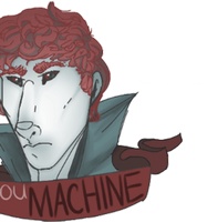 you machine - unglitched [ gif warning ] by canine-rein