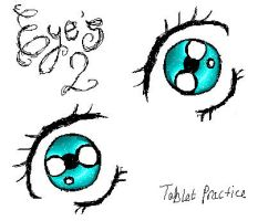 Tabby Practace - eyes by Sekarin