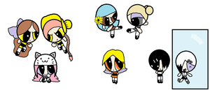 All of my fan-made PPGs... EVER by ppg-green-team312