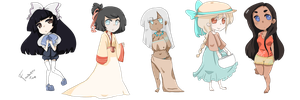 Adoptables Batch 3 CLOSED by pintkin