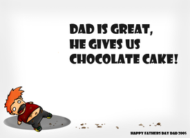 Happy Fathers Day by Meatball-man