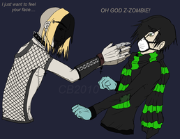 OH GOD ZOMBIE by Spinkels