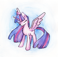twilight watercolor by mapony240