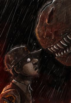 Jurassic Park - Face to teeth. by VanOxymore
