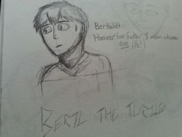 Bertl the Turtle sketch... by MyVisionIsDying