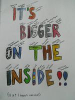 It's Bigger On The Inside by Biggerontheinside10