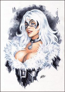 Black Cat by Candra