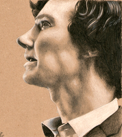 Sherlock in profile by Annocent