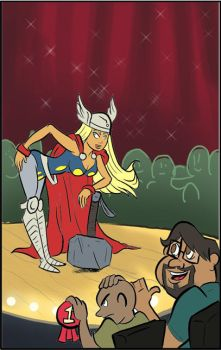 Sexy Thor by FLAMINGPINECONE