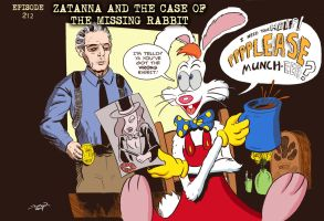 Zatanna and the Case of the Missing Rabbit by strawmancomics