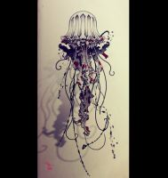 Jellyfish_tattoo by RemiisMeltingDots
