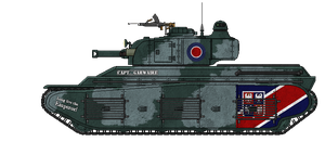 Fortnum M1 [155mm] Heavy Tank [with Mk.II Turret] by AdmiralSerenity