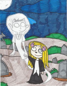 Lenore Meets Emily by Millie-the-Cat7